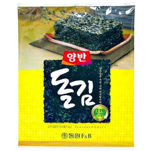 Glony nori, idealna przekąska 20g - Dongwon