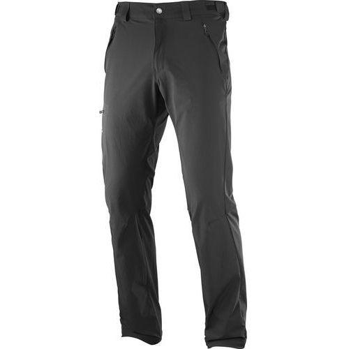 spodnie materiałowe black, Salomon