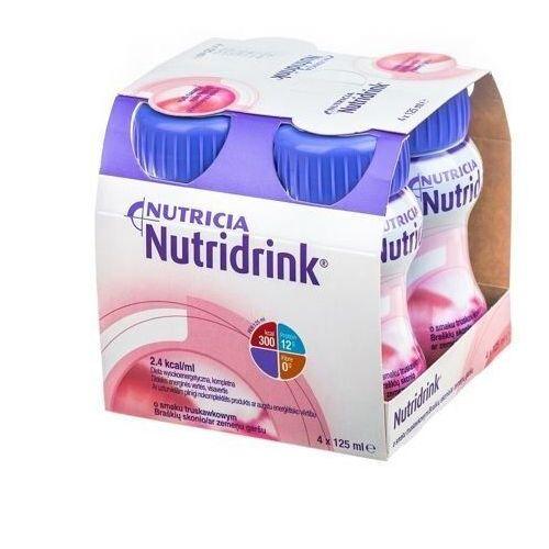 Nutridrink o smaku truskawkowym 4 x 125ml