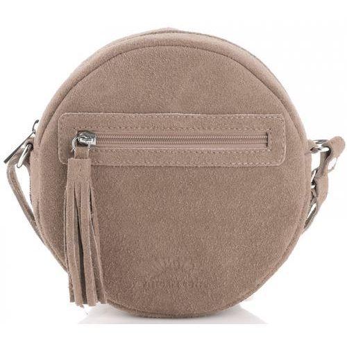 6aff6598726ff Vittoria gotti Oryginalne torebki skórzane listonoszki wykonane w całości z  zamszu naturalnego firmy ziemiste (kolory) 149,00 zł Tę listonoszkę Vittoria  ...