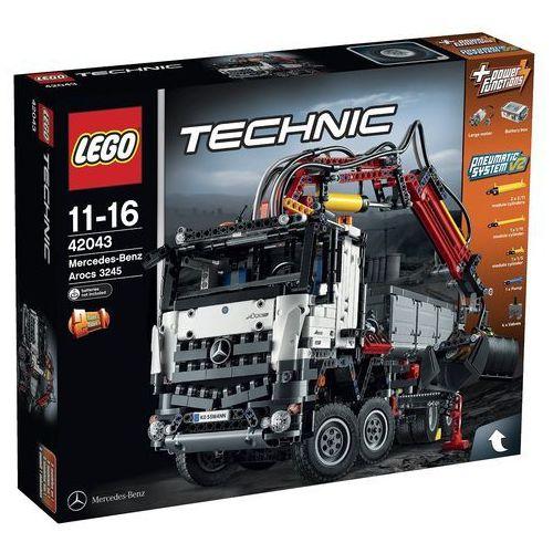Lego Technic Mercedes-Benz Arocs 3245 42043 z kategorii: klocki dla dzieci