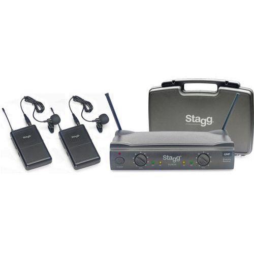 Stagg SUW 50 LL EG EU bezprzewodowy system UHF, podwójny doręczny