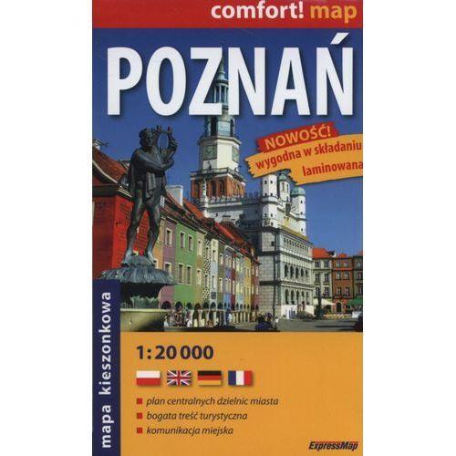 Poznań. Plan miasta 1:20 000, praca zbiorowa