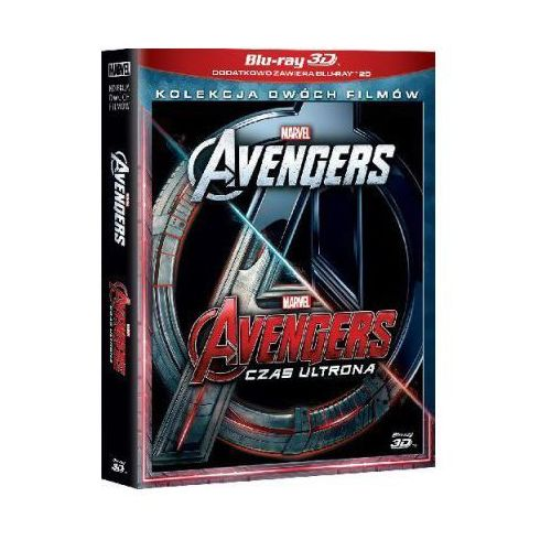 Galapagos Avengers. pakiet 2 filmów 3d (4bd) (avengers, avengers: czas ultrona)