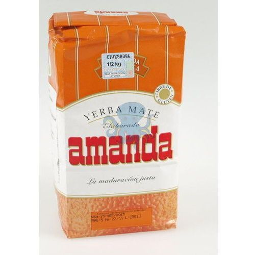 Yerba Mate Amanda pomarańczowa Naranja (7792710002056)