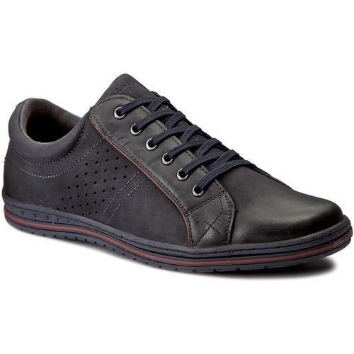 Sneakersy LASOCKI FOR MEN - MI08-C273-323-02 Granatowy