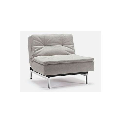 Fotel Dublexo beżowy 527 nogi chromowane  741051527-741011-0-2, marki INNOVATION iStyle do zakupu w sfmeble.pl