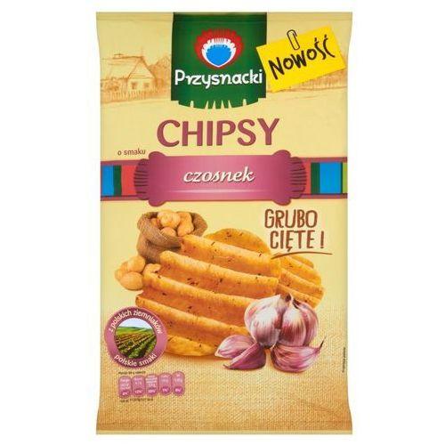 Chipsy Przysnacki o smaku czosnek 135 g