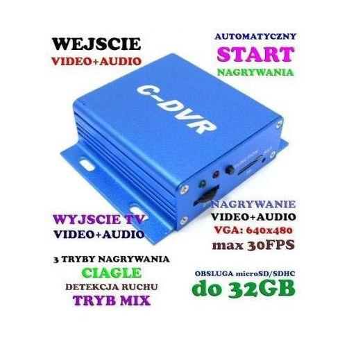 Miniaturowy wielofunkcyjny rejestrator audio-video, do kamer przewodowych... itd. marki Sti ltd.