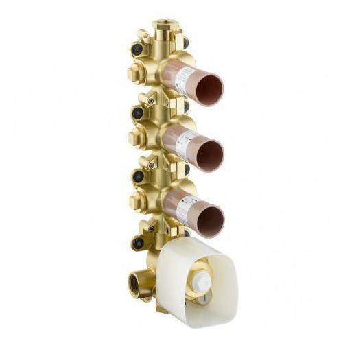Shower Collection Axor Hansgrohe zestaw podtynkowy do modułu z termostatem dn20 brak danych - 10750180, 10750180