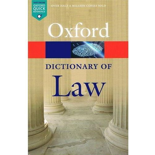 Oxford Dictionary of Law 8Ed, Oxford University Press