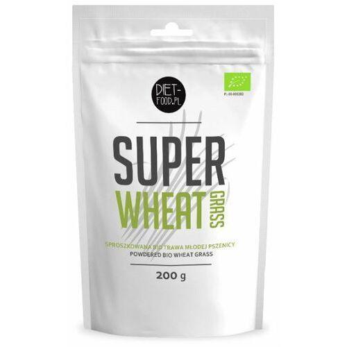 Diet food Diet-food bio super trawa pszenicy 200g