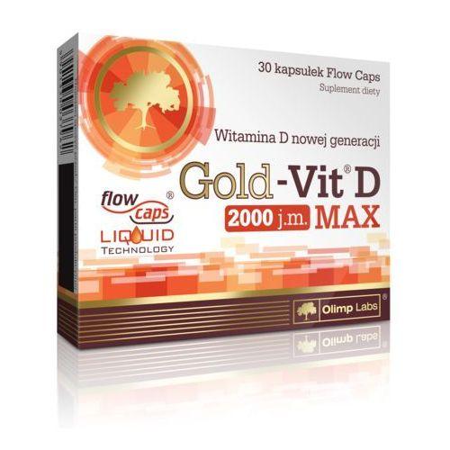 Kapsułki Olimp Gold-Vit D Max 2000 - 30 kaps.