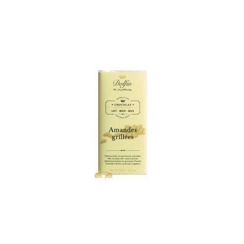 Czekolada Dolfin z prażonymi migdałami (mleczna) 70g, DF99-794B7