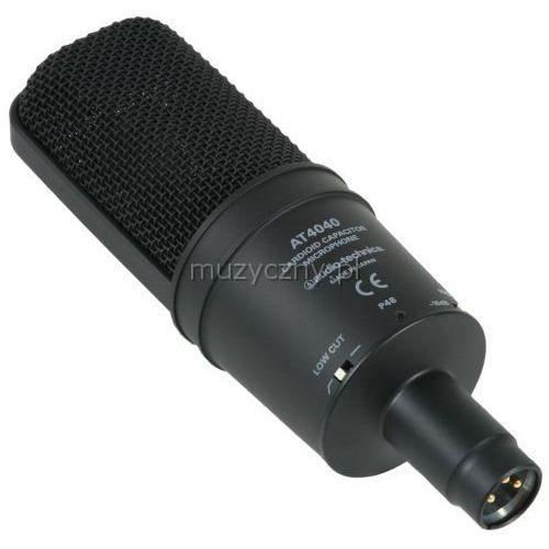 Audio Technica AT-4040 mikrofon studyjny + koszyk