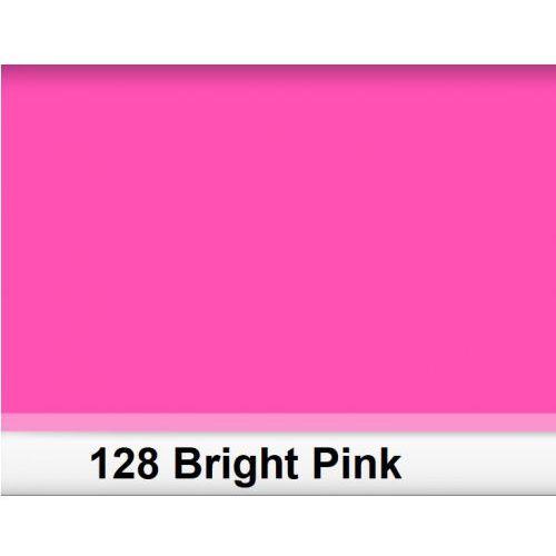 128 bright pink filtr barwny folia - arkusz 50 x 60 cm marki Lee