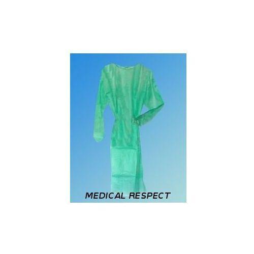 Fartuch z flizeliny dla odwiedzających (odzież medyczna)