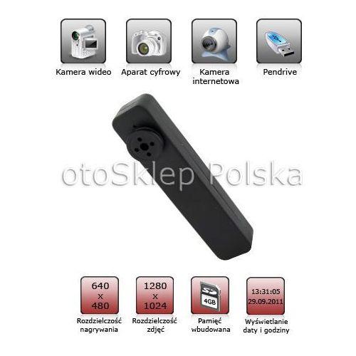 Guzik szpiegowski z mini kamerą + Aparat + 4GB od otosklep.bazarek.pl