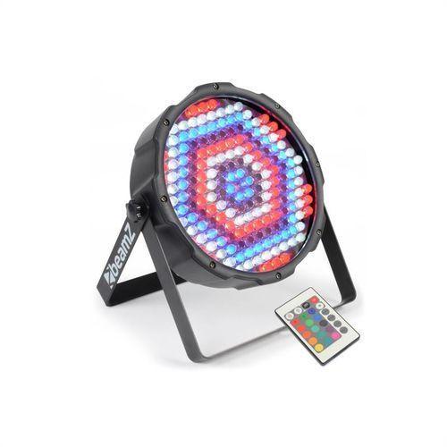 beamZ FlatPAR 186 x 10mm Projektor PAR RGBW LED DMX IR z pilotem