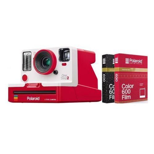 Impossible Zestaw aparat polaroid originals onestep2 vf i-type red + 2 wkłady
