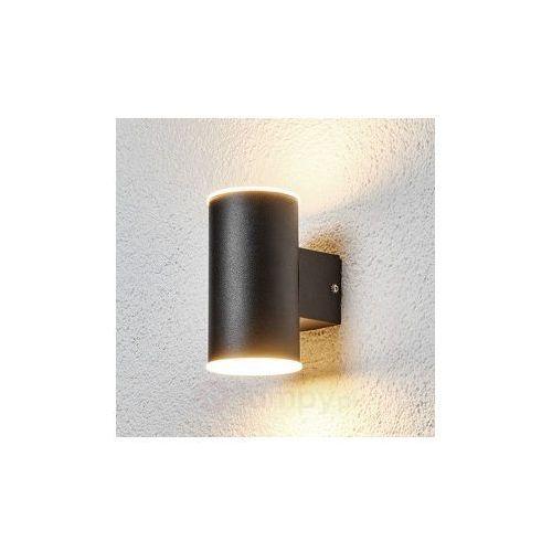 Efektowna lampa zewnętrzna LED MORENA