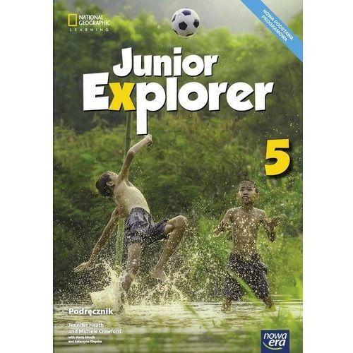 Junior Explorer 5 Podr. NE - Jennifer Heath, Michele Crawford, Marta Mrozik, K (120 str.)