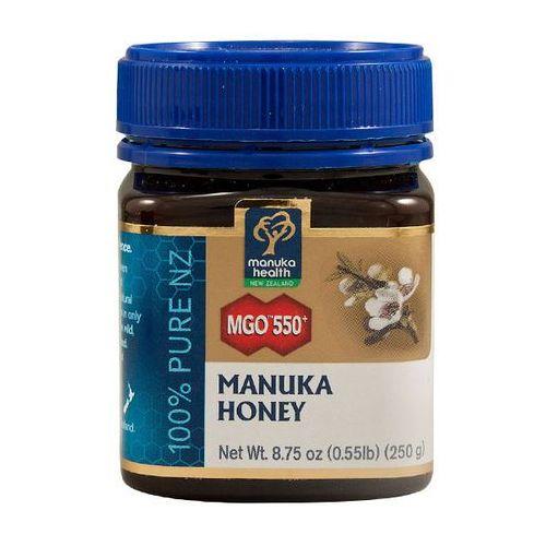 Manuka health Miód manuka 550+ 250g