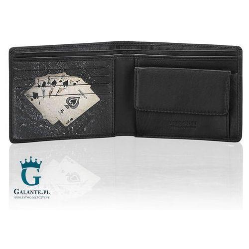 bb0141e7341df ... Mały portfel męski ze skóry Poker PKR-40, PKR-40 109,00 zł Portfele z  atrakcyjnymi.