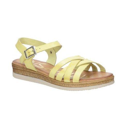 Sandały skórzane na platformie  3443, Oh my sandals, 36-41