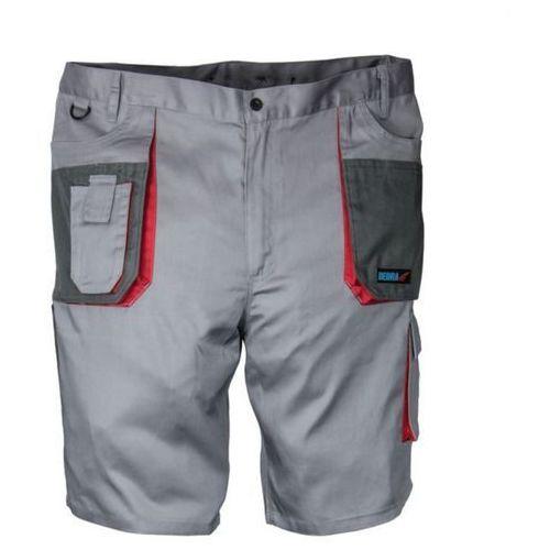 Szorty ochronne szare comfort line 190g/m2 xl/56 marki Dedra exim sp z.o.o.
