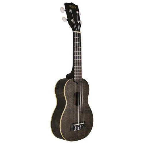 exotic mahogany ply soprano ukulele black ukulele sopranowe + pokrowiec marki Kala