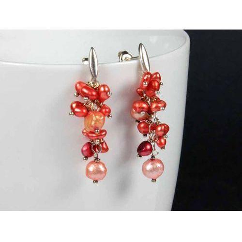Energetyczne kolczyki - perły w srebrze, produkt marki Galeria_Mimma