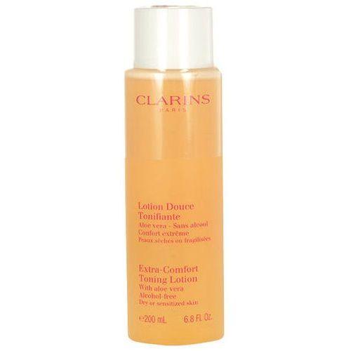 extra comfort toning lotion dry skin 200ml w tonik do skóry suchej i wrażliwej marki Clarins