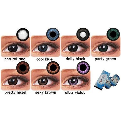 Colourvue big eyes 2 szt. -zerówki marki Maxvue vision