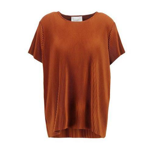 JUST FEMALE QUINT Tshirt z nadrukiem cappucino, brązowy w 4 rozmiarach