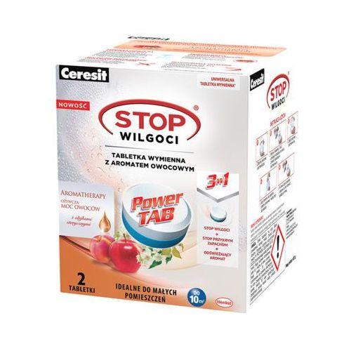 Ceresit 2szt stop wilgoci tabletki wymienne z aromatem owocowym do pochłaniaczy wilgoci