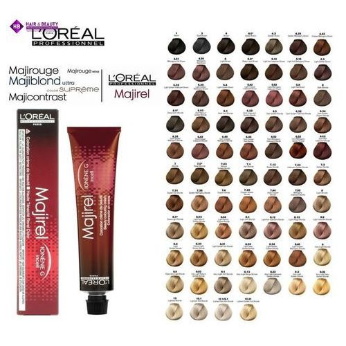 L'oréal professionnel majirel farba do włosów odcień 8 (beauty colouring cream) 50 ml (3474634003046)