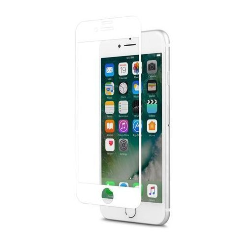 Moshi IonGlass - Szkło ochronne na ekran do iPhone 7 / iPhone 6s / iPhone 6 (White)