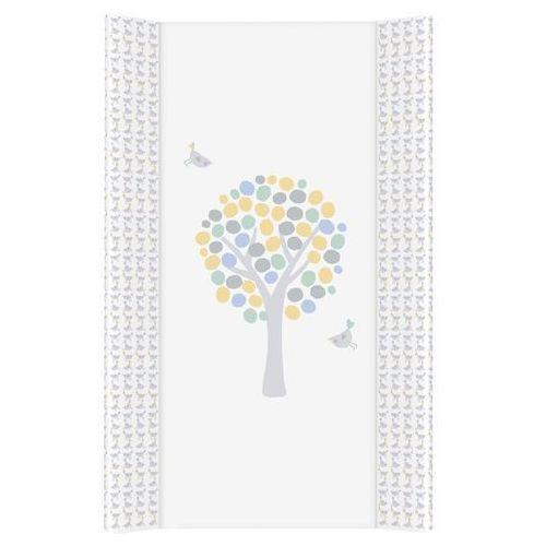 przewijak na łóżeczko usztywniony 50x70 magiczne drzewa niebieskie marki Mamo-tato