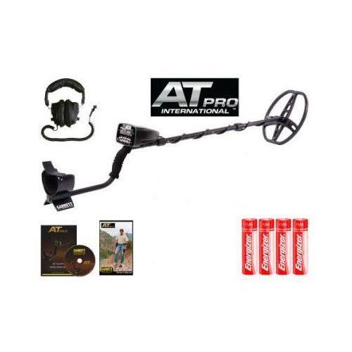 Profesjonalny Wykrywacz Metali Garrett AT-PRO (USA) z Ekranem LCD + Wiele Funkcji + Słuchawki., 5907773415185