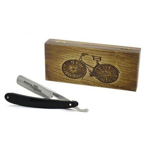 Robert klaas, solingen Robert klaas, brzytwa 5/8, drewniane pudełko retro rower