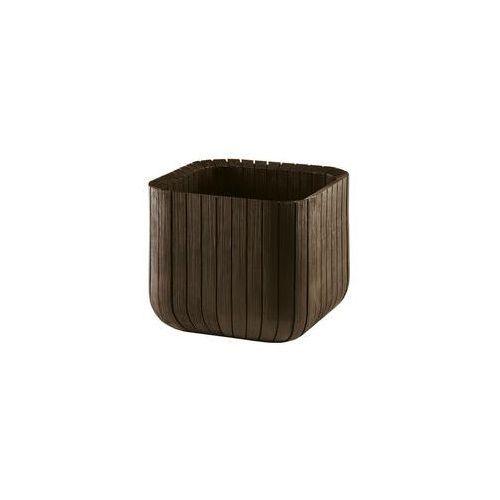 Doniczka cube s 29.7 x 29.7 cm marki Keter