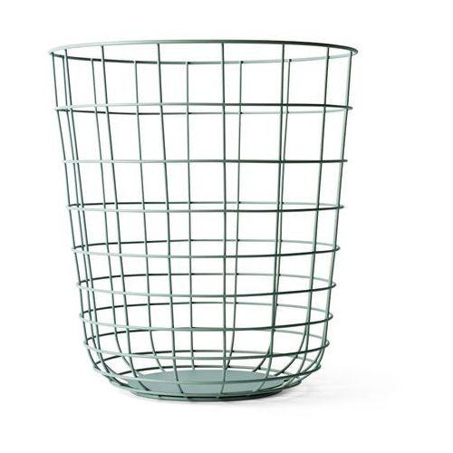 Kosz druciany Menu Wire Bin moss green - oferta [25fe4879c755f32f]