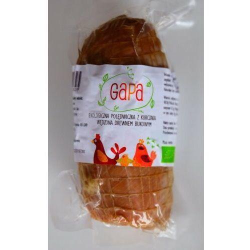 Kurczaki gapa (świeże, wędliny) Polędwiczka wędzona drobiowa bio (około 0,30 kg) - gapa