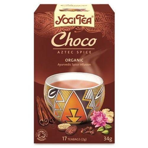 Yogi tea, usa Herbata czekoladowa bio (yogi tea) 17 saszetek po 2g (4012824400153)