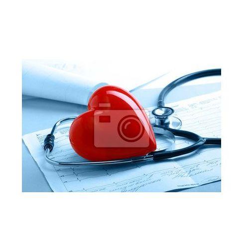 Fototapeta Serca z stetoskopem, miej serce i patrz w serce - szpital z powołania, Redro z REDRO