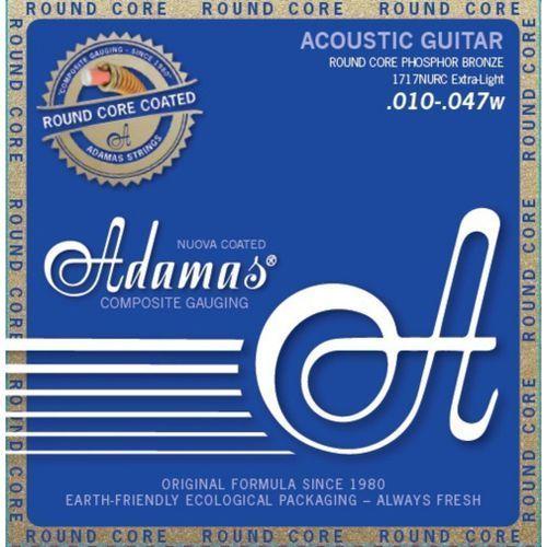 Adamas (664650) Phosphor Bronze Nuova powlekane struny do gitary akustycznej - Light.012-.053