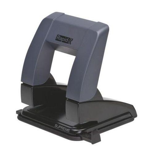 Dziurkacz Rapid Supreme PressLess SP20, 24845401 – czarny (7313468454012)