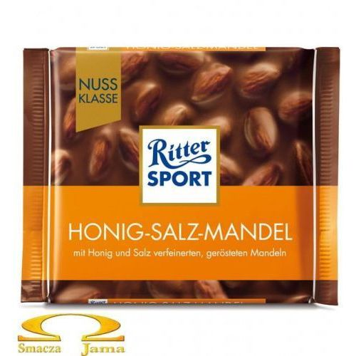 Czekolada honig-salz-mandel 100g marki Ritter sport