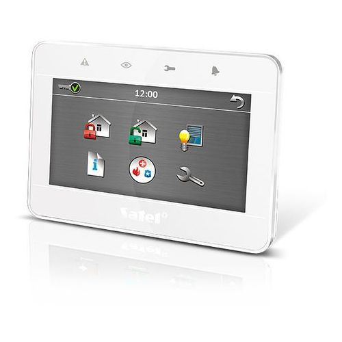 """Satel Int-tsg-wsw manipulator graficzny z ekranem dotykowym 4,3"""" (biały)"""